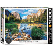 Eurographics Eurographics Yosemite National Park, California Puzzle 1000pcs