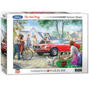 Eurographics Eurographics Ford The Red Pony Puzzle 1000pcs