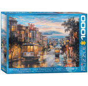 Eurographics Eurographics San Francisco, Cable Car Heaven Puzzle 1000pcs