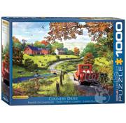 Eurographics Eurographics Country Drive Puzzle 1000pcs