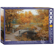 Eurographics Eurographics Autumn in an Old Park Puzzle 1000pcs