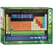 Eurographics Eurographics The Periodic Table of the Elements Puzzle 1000pcs