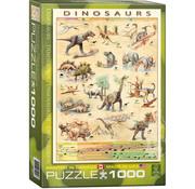 Eurographics Eurographics Dinosaurs Puzzle 1000pcs