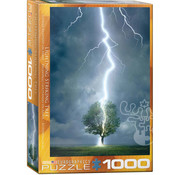 Eurographics Eurographics Lightning Striking Tree Puzzle 1000pcs