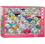 Eurographics Eurographics Teacup Collection Puzzle 1000pcs
