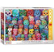 Eurographics Eurographics Traditional Mexican Skulls Puzzle 1000pcs