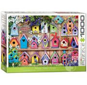 Eurographics Eurographics Home Tweet Home Bird Houses Puzzle 1000pcs