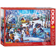 Eurographics Eurographics Snow Day Puzzle 1000pcs
