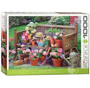 Eurographics Eurographics Garden Bench Puzzle 1000pcs
