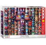 Eurographics Eurographics Totem Poles Puzzle 1000pcs