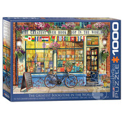 Eurographics Eurographics The Greatest Bookstore in the World Puzzle 1000pcs