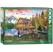 Eurographics Eurographics The Fishing Cabin Puzzle 1000pcs