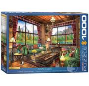 Eurographics Eurographics Cozy Cabin Puzzle 1000pcs