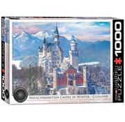 Eurographics Eurographics Neuschwanstein Castle in Winter Puzzle 1000pcs