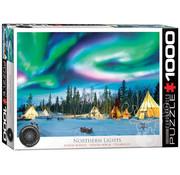 Eurographics Eurographics Northern Lights, Yellowknife Puzzle 1000pcs