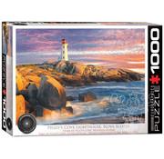 Eurographics Eurographics Peggy's Cove Lighthouse, Nova Scotia Puzzle 1000pcs