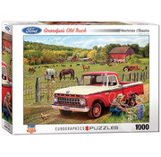 Eurographics Eurographics Grandpa's Old Truck Puzzle 1000pcs