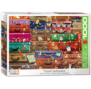 Eurographics Eurographics Travel Suitcases Puzzle 1000pcs