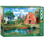 Eurographics Eurographics The Red Barn Puzzle 1000pcs
