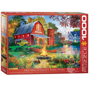 Eurographics Eurographics Campfire by the Barn  Puzzle 1000pcs