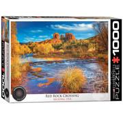 Eurographics Eurographics Red Rock Crossing, Arizona USA Puzzle 1000pcs