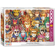 Eurographics Eurographics Venetian Masks Puzzle 1000pcs