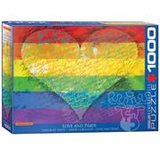 Eurographics Eurographics Love & Pride Puzzle 1000pcs