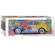 Eurographics Eurographics VW Beetle Splash Panoramic Puzzle 1000pcs