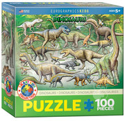 Eurographics Eurographics Dinosaurs Puzzle 100pcs