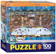 Eurographics Eurographics Spot & Find: Hockey Puzzle 100pcs