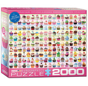 Eurographics Eurographics Cupcakes Galore Puzzle 2000pcs
