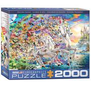 Eurographics Eurographics Unicorn Fantasy Puzzle 2000pcs