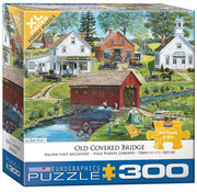 Eurographics Eurographics Old Covered Bridge XL Family Puzzle 300pcs