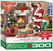 Eurographics Eurographics Santa's Best Friend XL Family Puzzle 300pcs