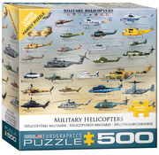 Eurographics Eurographics Military Helicopters Large Pieces Puzzle 500pcs