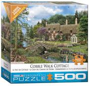 Eurographics Eurographics Cobble Walk Cottage Large Pieces Puzzle 500pcs