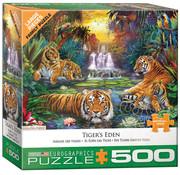 Eurographics Eurographics Tiger's Eden Large Pieces Family Puzzle 500pcs