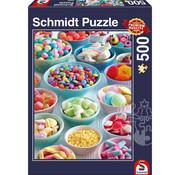 Schmidt Schmidt Sweet Temptations Puzzle 500pcs