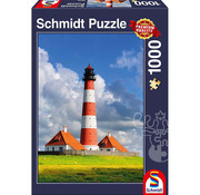 Schmidt Schmidt Westerhever Lighthouse Puzzle 1000pcs
