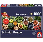 Schmidt Schmidt On the Kitchen Table Panorama Puzzle 1000pcs