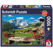 Schmidt Schmidt Mountain Paradise Puzzle 1000pcs