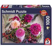 Schmidt Schmidt Berries and Flowers Puzzle 1000pcs