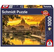 Schmidt Schmidt Golden Light Over Rome Puzzle 1000pcs