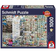 Schmidt Schmidt Souvenir Stand Puzzle 1000pcs