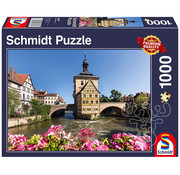 Schmidt Schmidt Bamberg, Regnitz and Old Town Hall Puzzle 1000pcs