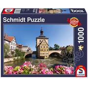 Schmidt Schmidt Bamberg, Regnitz and Old Town Hall Puzzle 1000pcs