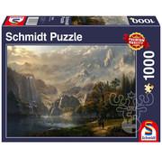 Schmidt Schmidt Pastoral Waterfall Puzzle 1000pcs