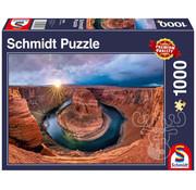 Schmidt Schmidt Glen Canyon Horseshoe Bend, Colorado River Puzzle 1000pcs