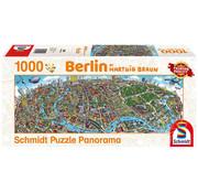 Schmidt Schmidt Berlin Panorama Puzzle 1000pcs