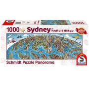 Schmidt Schmidt Sidney Panorama Puzzle 1000pcs